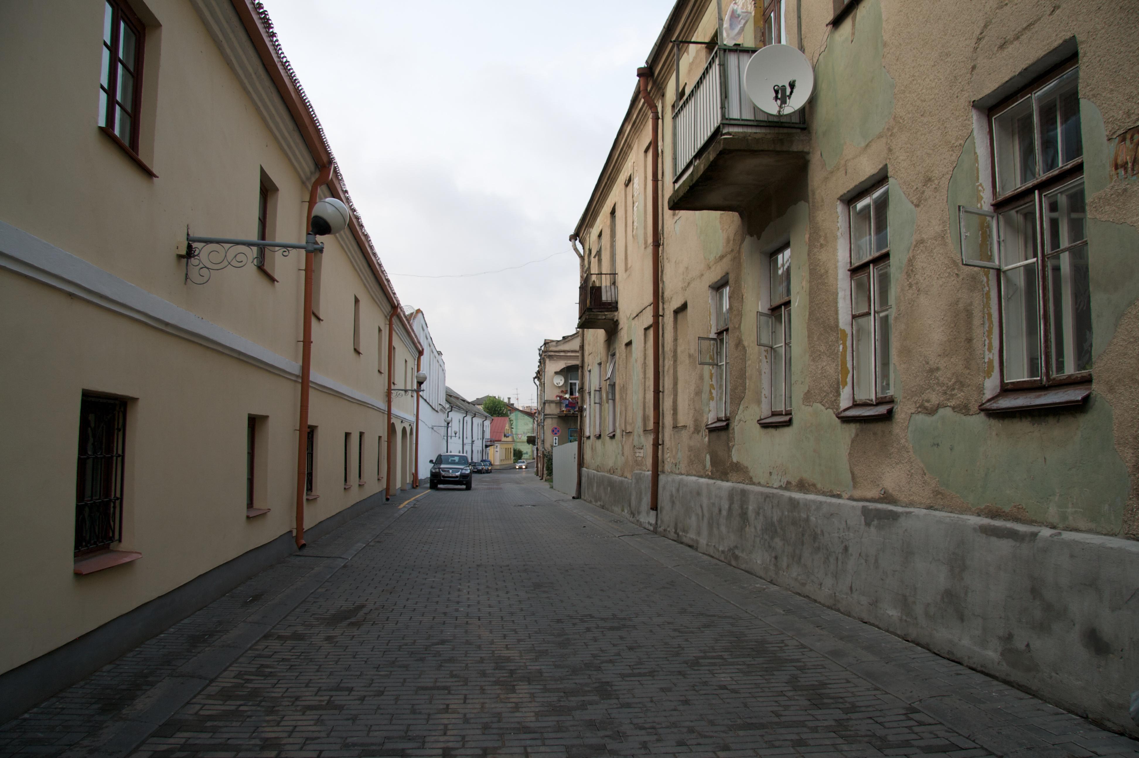 Улочки Гродно
