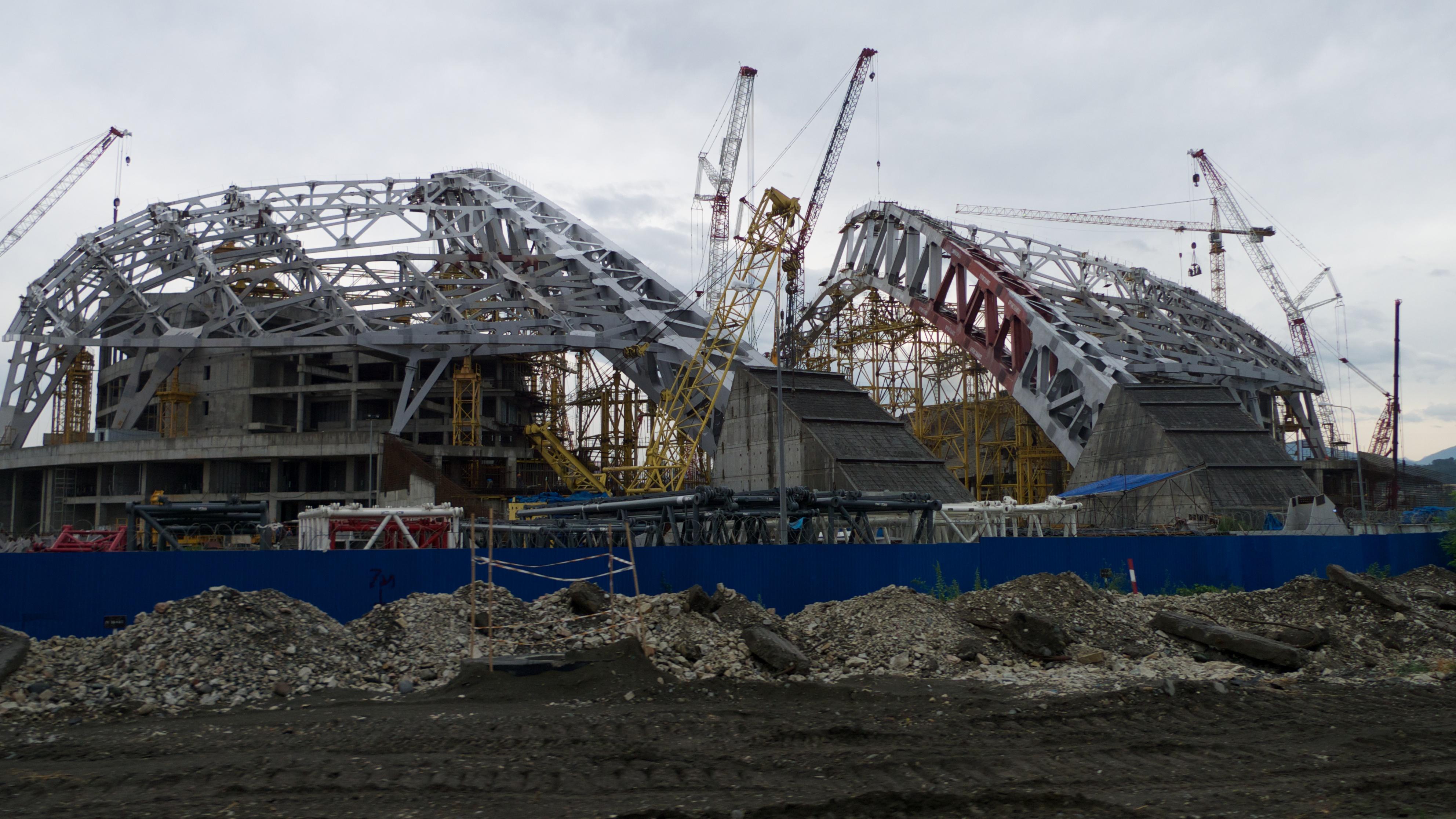 Будущий стадион открытия Олимпиады 2014 - ФИШТ