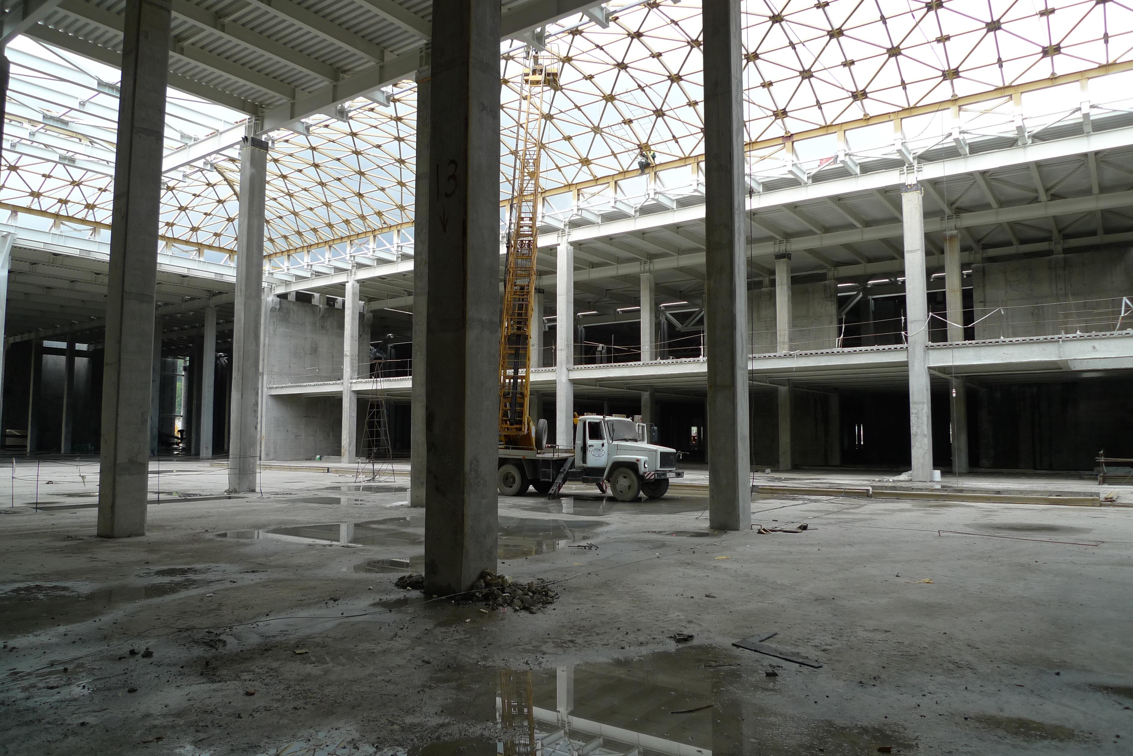 Телерадиоцентр - будущий торговый центр