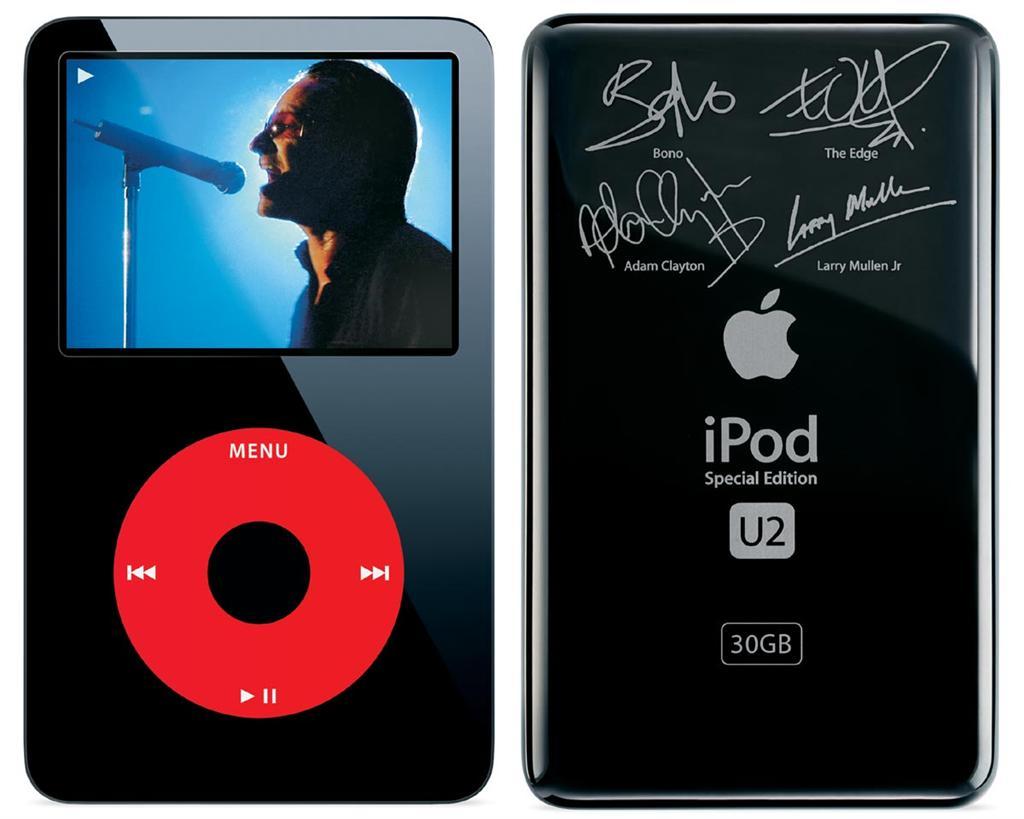iPod Classic U2