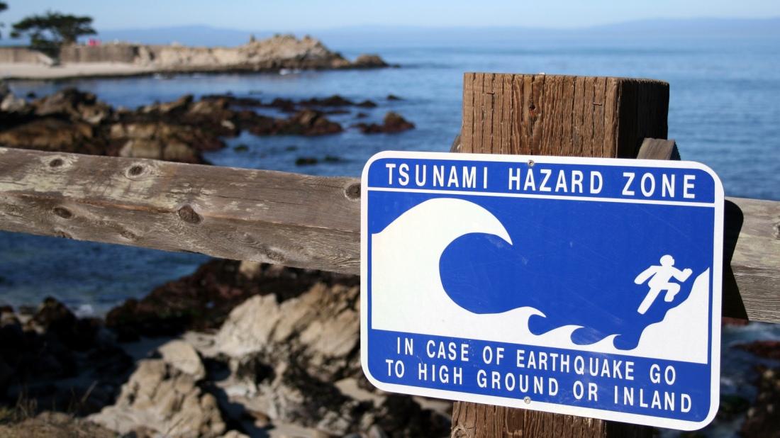 Tsunamai Hazard Zone